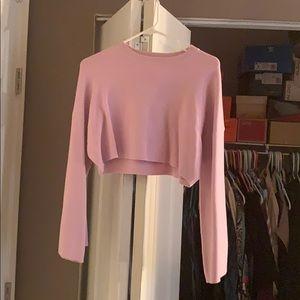 Zara Baby Purple Crop Sweater